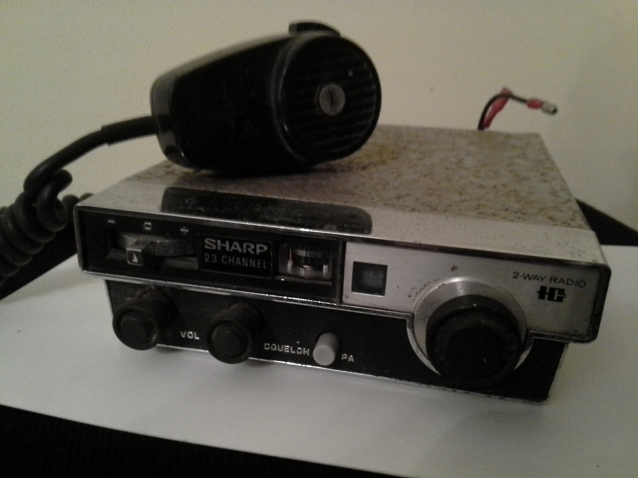 CBRadio, Sharp CBT-58, serviced and tested